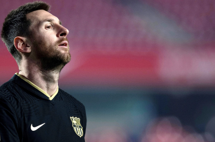 Insultan en Barcelona al dueño del PSG por querer a Messi. Imagen de referencia del futbolista argentino del 'Barça'.