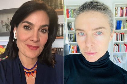 Vanessa de la Torre y Margarita Rosa de Francisco, a propósito de que la periodista critió a la columnista por la forma en que estaría renunciando a El Tiempo.
