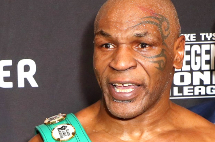 Primer knockout del boxeador Mike Tyson estuvo rodeado de sexo con sirvientas japonesas. Imagen actual del pegador.