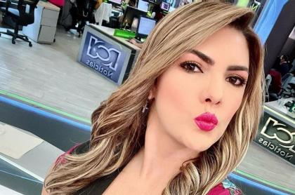 Ana Karina Soto, presentadora, debutará en la pantalla grande