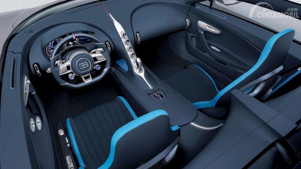 Getty / Foto del interior del Bugatti Centodieci