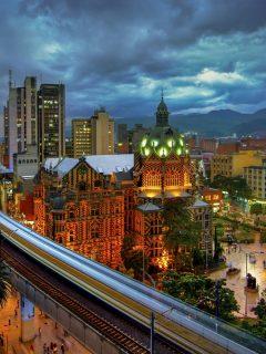 Imagen de Medellín, a propósito de la nueva innovación en la ciudad.