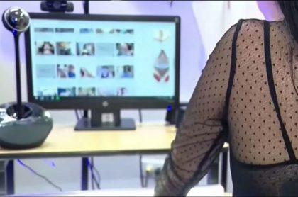 Imagen de ilustración del caso de reclusa que trabajará de modelo webcam