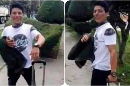 Silvano Oblitas Cántaro, peruano que fue lanzado de un puente por venezolanos.