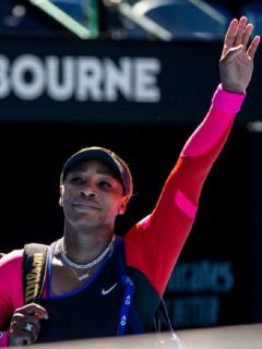 Serena Williams quedó eliminada en semifinales del Abierto de Australia 2021.