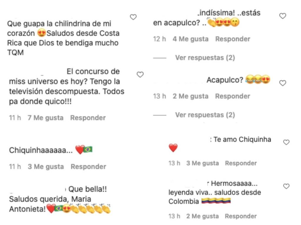 Instagram lachilindrina_oficial