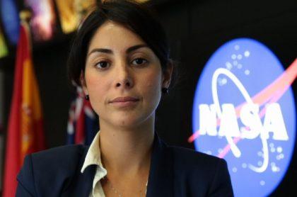 Revelan emotiva entrevista de Diana Trujillo, quien lideró la misión de la Nasa a Marte, con dos niñas colombianas en 2013.