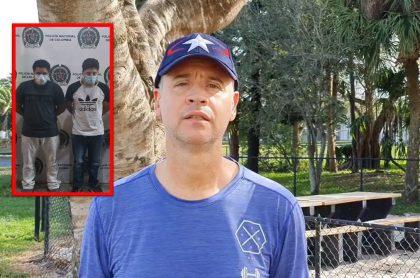 Jeringa publicó fotos y videos de los supuestos asesinos de su hermano.