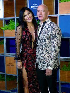 Foto de Lauren Sánchez y Jeff Bezos, a propósito de sus vacaciones en México