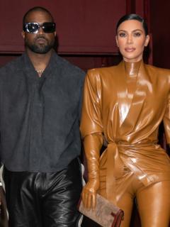 Kanye West no ha podido visitar a sus hijos por la separación con Kim.