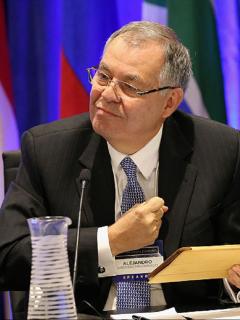 Alejandro Ordóñez, que recientemente superó la COVID-19.