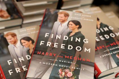 Libro que destaca la 'libertad' de Harry y Meghan.
