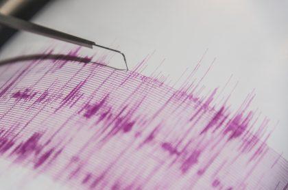 Temblor en Colombia hoy martes 13 de abril de magnitud 4.4 en el Océano Pacífico, cerca del departamento de Nariño.