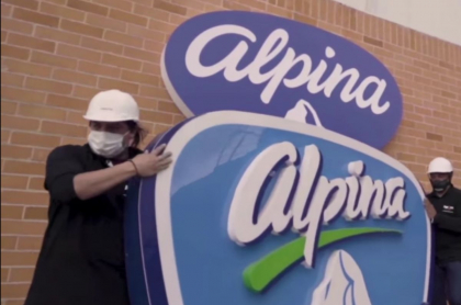 Alpina cambia de logo y se compromete con Colombia
