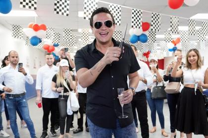 Foto de Silvestre Dangond, cantante y dueño de concesionario en Estados Unidos