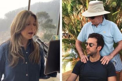 Martín Santos dice que Vicky Dávila está obsesionada con Juan M. Santos