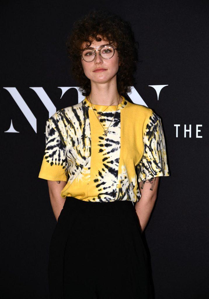 Ella Emhoff en la Semana de la Moda en Nueva York / AFP
