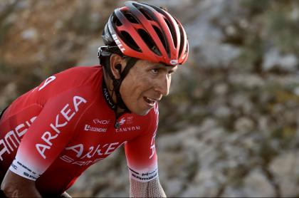 Nairo Quintana, quien subió al top 10 del Tour de los Alpes Marítimos luego de la etapa 2