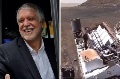 Enrique Peñalosa, quien compartió un video falso sobre el Perseverance en Marte