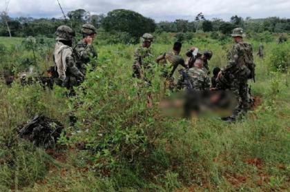 5 soldados heridos en campo minado de El Catatumbo