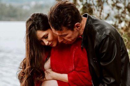 Rigoberto Urán pudo llegar a Colombia luego de viajar 15 horas y estará en el nacimiento de su hija Carlota.