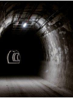 Fotos del primer choque en el Túnel de La Línea.
