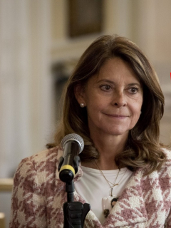 Marta Lucía Ramírez, que pidió a los bares no vender trago a gente muy ebria, por casos de Ana María Castro y Luis Andrés Colmenares