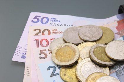 Dinero en efectivo. Pesos colombianos. Imagen ilustrativa al pago del Ingreso Solidario.