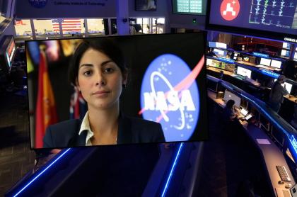 Salarios de Diana Trujillo y de los trabajadores de la NASA.