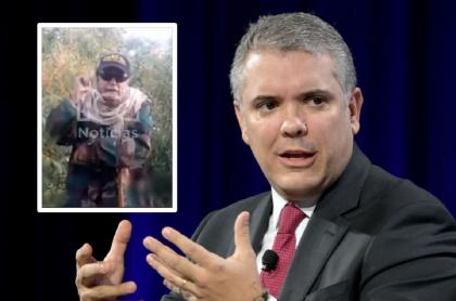 Jesús Santrich amenaza de muerte a Iván Duque en video desde Venezuela