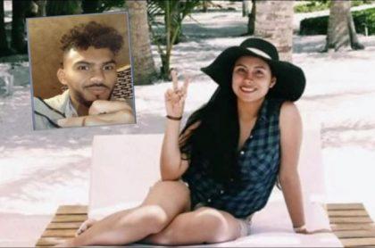 Evelyn Paola Carrillo y su novio, Andrey Rojas, implicado en la extraña muerte de la joven en una casa en Suba, Bogotá