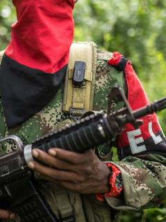 Integrante del Eln ilustra nota sobre informe militar de posible atentado en Bogotá