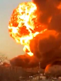 Explosión en Texas.