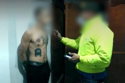 Medellín: presunto sicario vestía como mujer; es hijo de delincuente