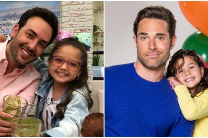 Fotomontaje de actores de 'Pa' quererte' y 'Papá a toda madre'.