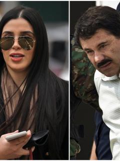 Fotomontaje de Emma Coronel y 'el Chapo' Guzmán, a propósito de quién es la esposa del narcotraficante