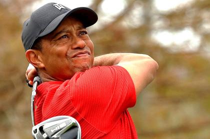Tiger Woosd, accidentado y llevado a un hospital para ser operado. Imagen de referencia del deportista.
