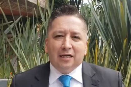 Herbin Hoyos, periodista que murió por COVID
