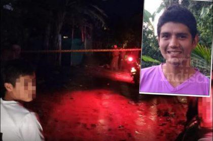 Jonathan David Molina Carvajal, alias 'Care Pene', fue asesinado a tiros en una calle de Mariquita, Tolima