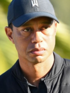 Tiger Woods y carro en el que se accidentó ilustra nota sobre heridas que tuvo