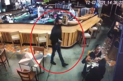 Bogotá: en Parque de la 93, ladrón robó Rolex de $30 millones