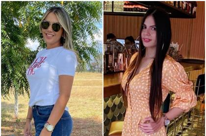 Fotomontaje de Dayana Jaimes y 'Caya' Varón, a propósito de cómo lucen actualmente
