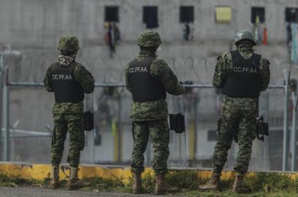 Foto de cárcel en Guayaquil, Ecuador, a propósito de masacres