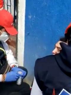 Protestas en Bogotá: joven podría perder ojo por objeto que le lanzó el Esmad