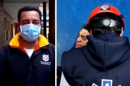 Joven perdió su ojo izquierdo: fue herido por el Esmad en protestas en Bogotá