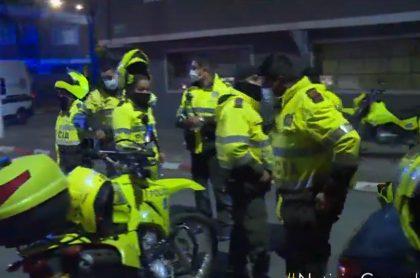 Bogotá: para capturar a 2, Policía montó operativo con 25 agentes
