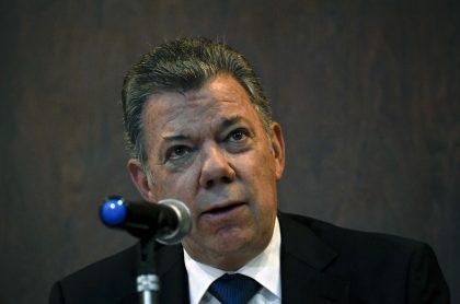 Juan Manuel Santos, expresidente de Colombia que se reunió con directivos de Odebrecht