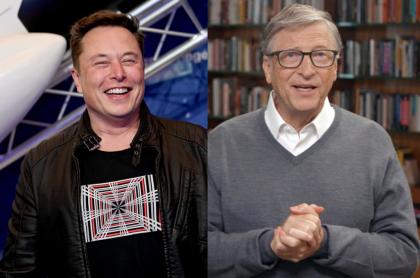Foto de Elon Musk y Bill Gates ilustra nota sobre qué dijeron sobre el Bitcoin (fotomontaje de Pulzo)
