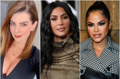 Foto de Carolina Cruz, Kim Kardashian y Natti Natasha