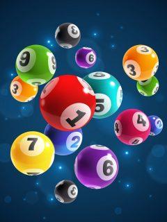Balotas ilustran nota sobre resultados de loterías de Manizales, Valle y Meta, así como de Baloto y chances del día.
